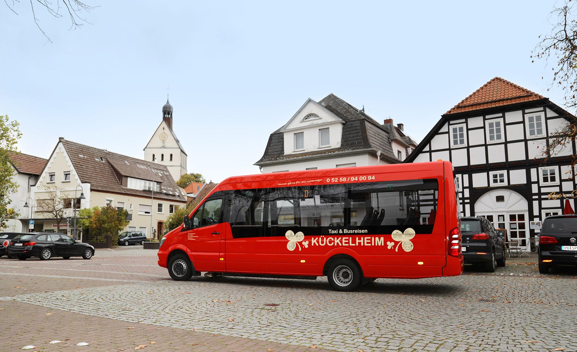 Nahverkehr in Salzkotten - Taxi & Busreisen Kückelheim