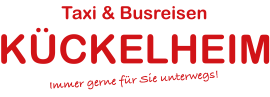 Taxi & Busreisen Kückelheim - Logo Header