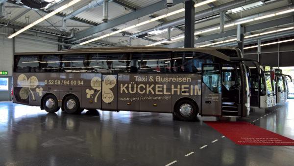 Unser neuer Reisebus ist da